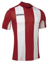 JOMA Pisa V Jersey - Red / White